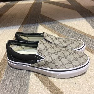 Double G Vans Slip Ons (Custom Made)